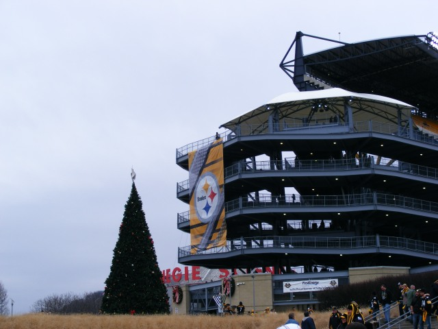 December at Heinz Field