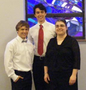 Zeesha, Christian, Miriam