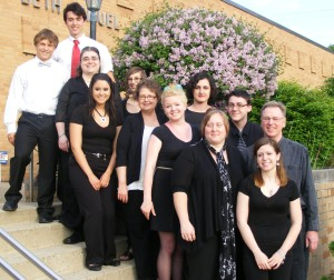 Soloists with ensemble