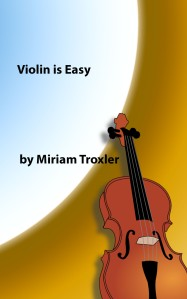 Violin is easy book cover