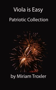 patriotic cover balck baground and new fireworks viola is easy