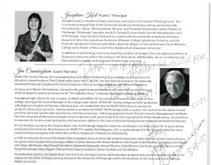autograph, Jim Cunningham