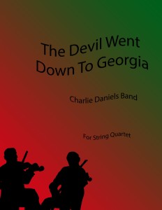 String Quartet cover art for The Devil Went Down To Georgia